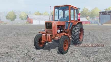 МТЗ-80 Беларус мягко-красный окрас для Farming Simulator 2013