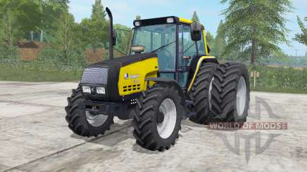Valmet 6400 safety yellow для Farming Simulator 2017