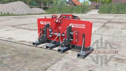 Grasdorf Wennekamp для Farming Simulator 2017
