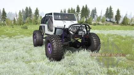 Jeep Wrangler Unlimited Rubicon (TJ) 2005 для MudRunner