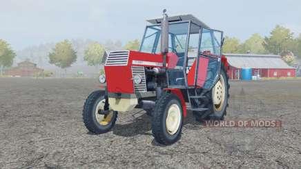 Ursus C-385 coral red для Farming Simulator 2013