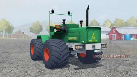 Deutz D 16006 Terra tires для Farming Simulator 2013