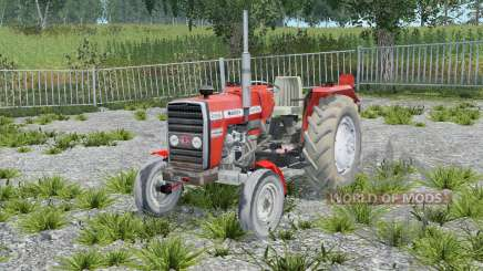 Massey Ferguson 255 without cab для Farming Simulator 2015