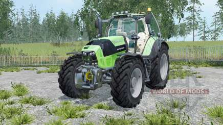 Deutz-Fahr 7210 TTV Agrotron street для Farming Simulator 2015