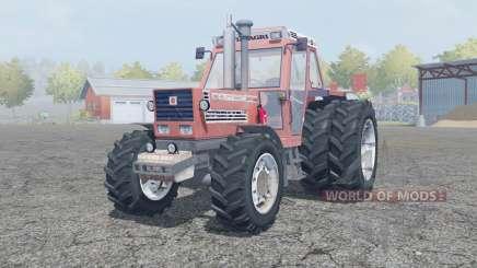 Fiat 180-90 Turbo DT dual rear wheels для Farming Simulator 2013