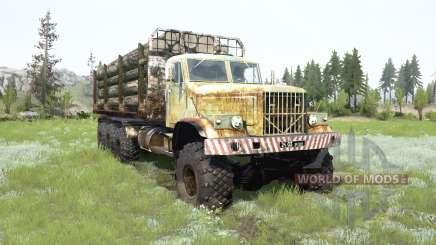 КрАЗ-255Б 8x8 для MudRunner
