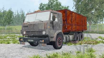 КамАЗ-53212 с прицепом для Farming Simulator 2015