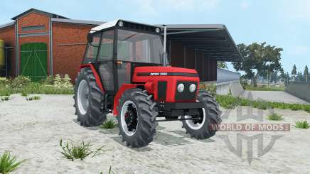 Zetor 7245 animated pedals для Farming Simulator 2015