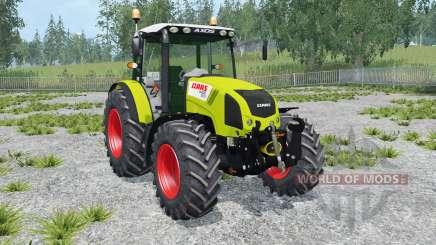 Claas Axos 330 peridot для Farming Simulator 2015