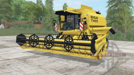 New Holland TX65 sandstorm для Farming Simulator 2017