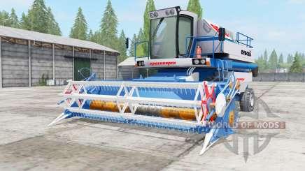 Енисей-950 синий окрас для Farming Simulator 2017