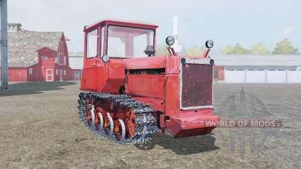 ДТ-75 мягко-красный окрас для Farming Simulator 2013