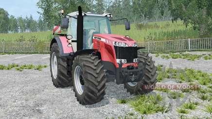 Massey Ferguson 8737 IC control для Farming Simulator 2015