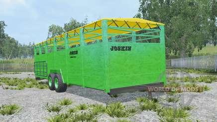 Joskin Betimax RDS 7500-2 pantone green для Farming Simulator 2015