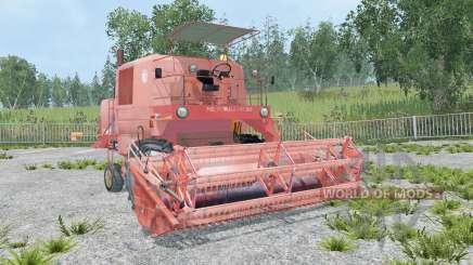 Bizon Super Z056 lot animation для Farming Simulator 2015