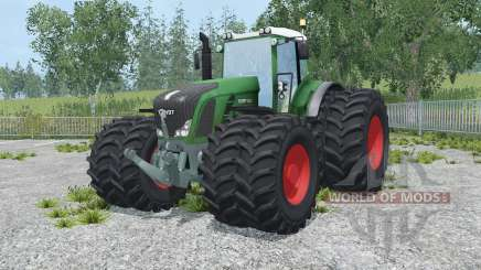 Fendt 936 Vario spanish green для Farming Simulator 2015