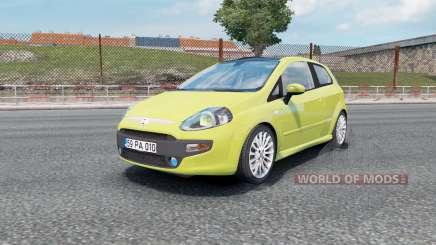 Fiat Punto Evo 3-door (199) 2012 для Euro Truck Simulator 2