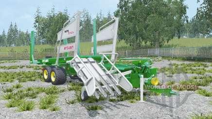 Arcusin AutoStack FS 63-72 painted rear wheels для Farming Simulator 2015