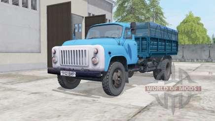 ГАЗ-САЗ-3507 голубой окрас для Farming Simulator 2017
