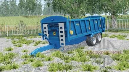 Marshall QM-16 correct sized wheels для Farming Simulator 2015