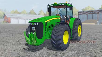 John Deere 8530 islamic green для Farming Simulator 2013