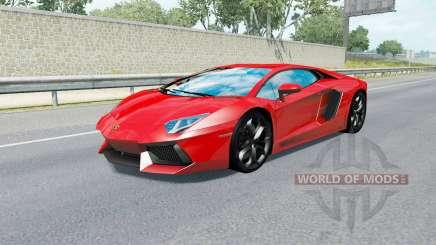 Sport Cars Traffic Pack v3.8 для American Truck Simulator