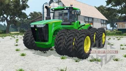 John Deere 9620R triples для Farming Simulator 2015