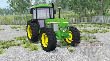 John Deere 3650 dark pastel green для Farming Simulator 2015