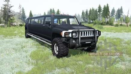 Hummer H3 Liᶆo для MudRunner