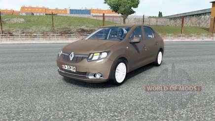 Renault Symbol 2012 для Euro Truck Simulator 2