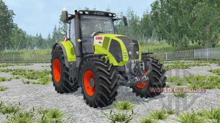 Claas Axion 850 IC control для Farming Simulator 2015