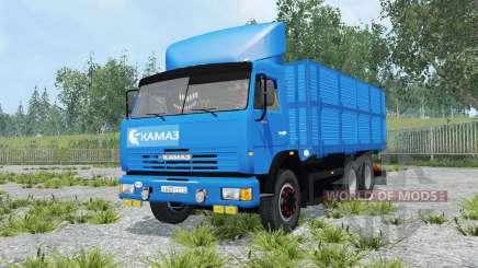 КамАЗ-45143 с прицепом для Farming Simulator 2015