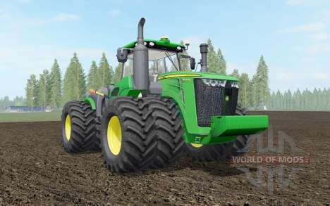 John Deere 9R-series для Farming Simulator 2017