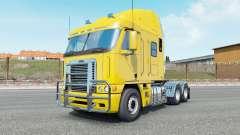 Freightliner Argosy banana yellow для Euro Truck Simulator 2