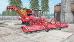 Grimme Tectron 415 red salsa для Farming Simulator 2017