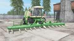 Krone BiG X 1100 buɳker capacity для Farming Simulator 2017