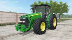 John Deere 8245R-8345R north texas green для Farming Simulator 2017