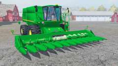 John Deere S690i with cutter для Farming Simulator 2013