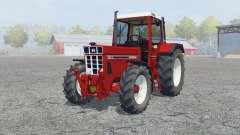 International 1255 XL spartan crimson для Farming Simulator 2013