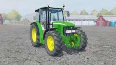 John Deere 5100R manual ignition для Farming Simulator 2013