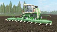 Krone BiG X 1100 light cream для Farming Simulator 2017