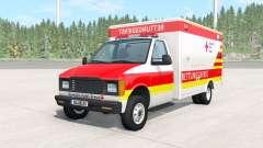 Gavril H-Series German Ambulance v1.1 для BeamNG Drive