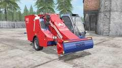 Siloking SelfLine Compact 1612 pigment red для Farming Simulator 2017