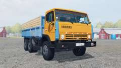 КамАЗ-55102 ярко-оранжевый окрас для Farming Simulator 2013