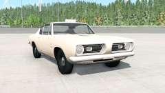 Plymouth Barracuda (BH29) 1968 для BeamNG Drive