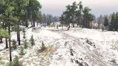 Ранний снег для Spin Tires