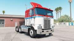 Kenworth K100E pigment ᶉed для American Truck Simulator
