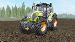Claas Axion 810-850 acid green для Farming Simulator 2017