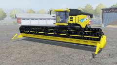 New Holland CR9090 titanium yᶒllow для Farming Simulator 2013