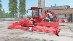 Holmer Terra Felis 2 red orange для Farming Simulator 2017